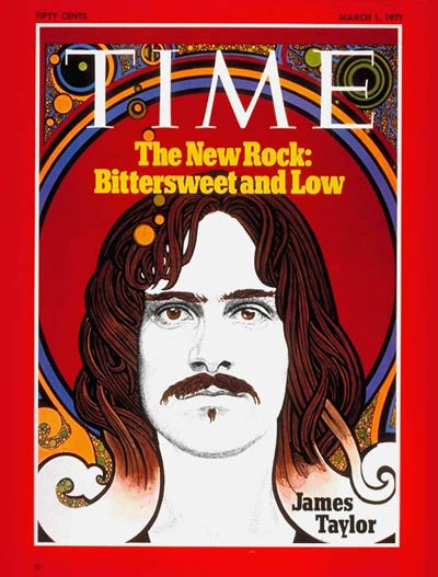 James Taylor Time Magazine Cover 1971