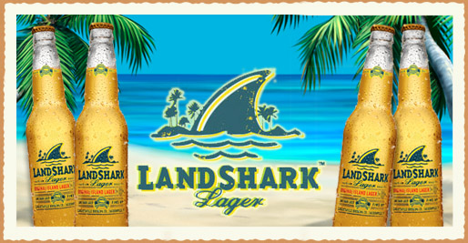 Beer. But with sharks.